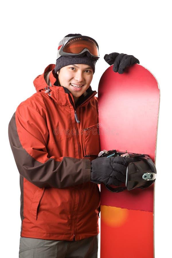 Snowboarder images libres de droits