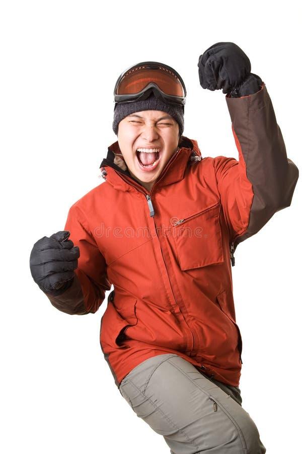 Snowboarder immagine stock libera da diritti