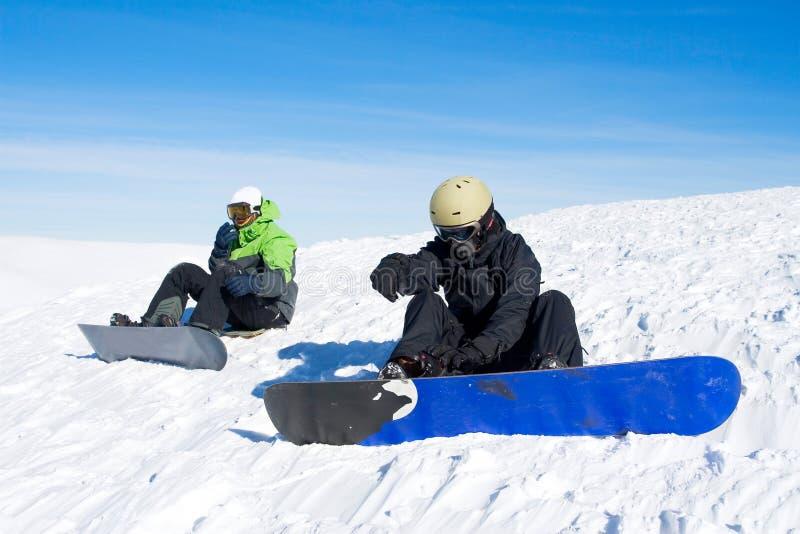 snowboarder arkivbilder