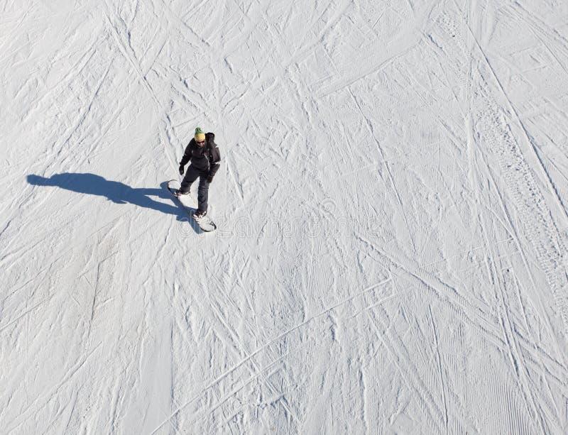 Snowboarder lizenzfreie stockbilder