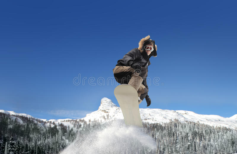 Download Snowboarder Royalty Free Stock Photos - Image: 13557998
