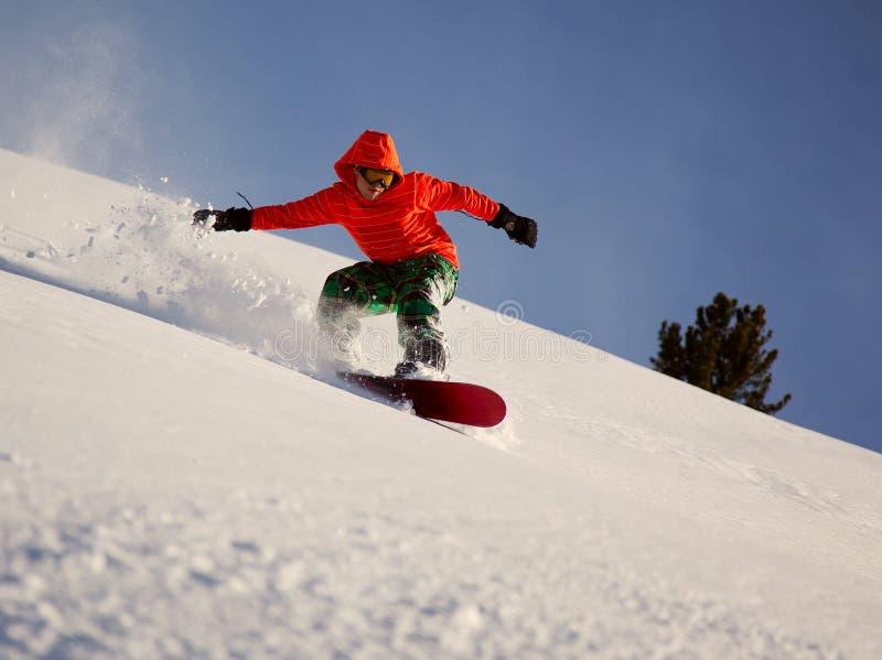 Snowboarder imágenes de archivo libres de regalías