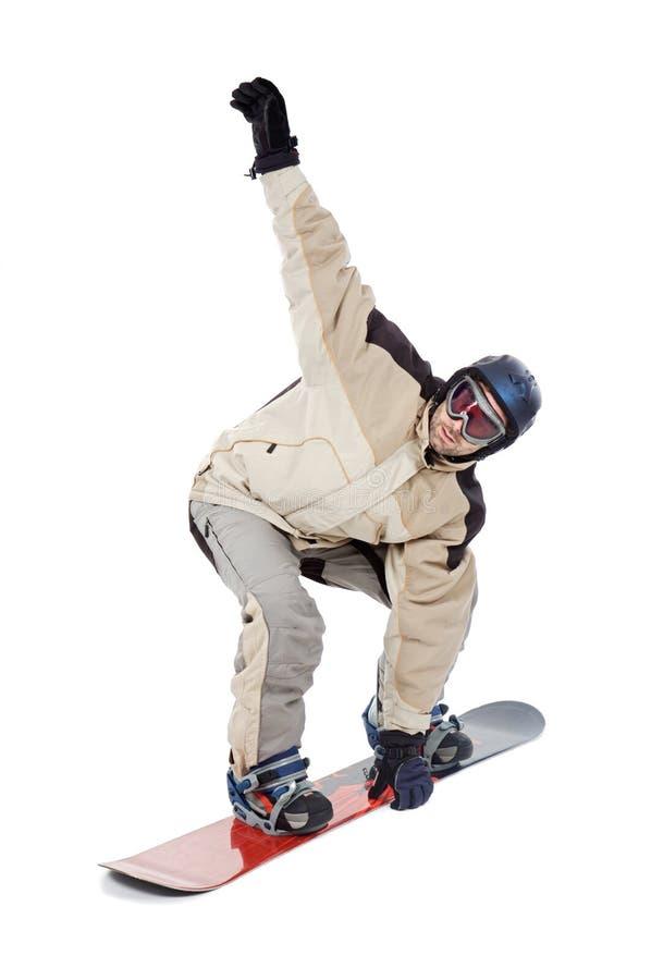 snowboarder arkivfoton