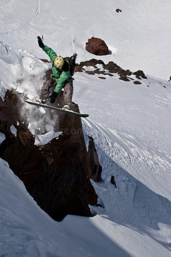 Snowboarder fotografía de archivo libre de regalías