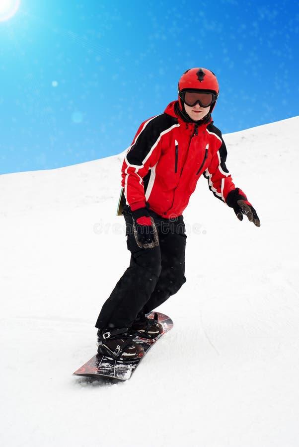 snowboarder стоковые изображения