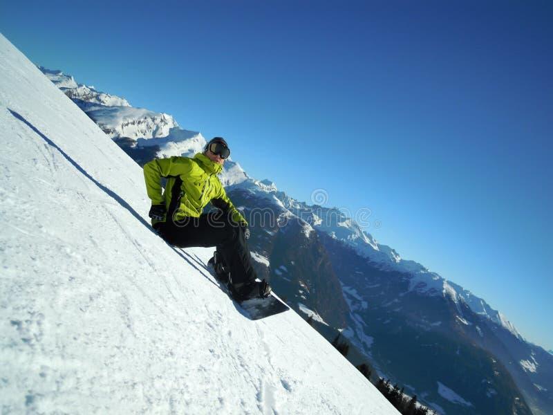 snowboarder стоковое изображение rf