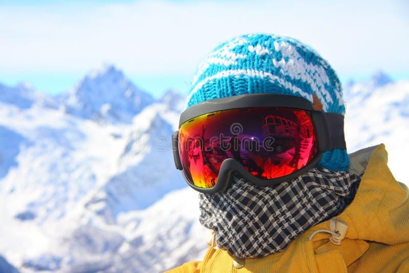 Snowboarder stockbilder