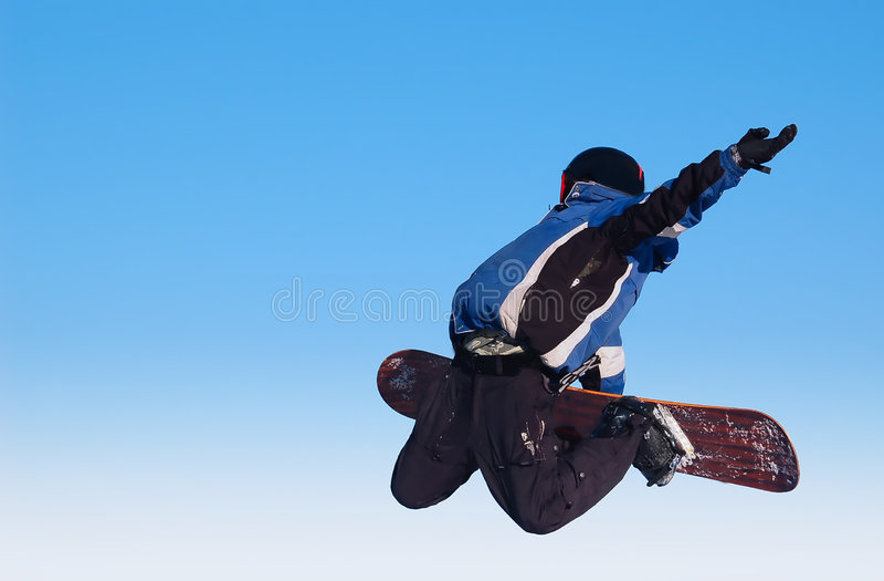 snowboarder στοκ φωτογραφία