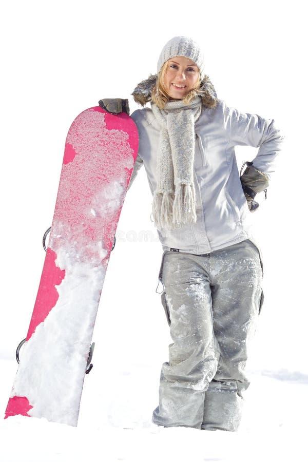 Snowboarder photos libres de droits