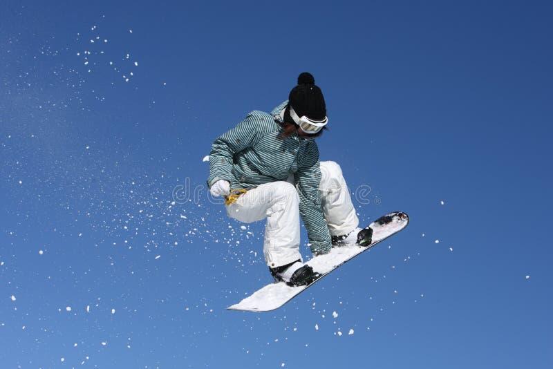snowboarder obrazy stock