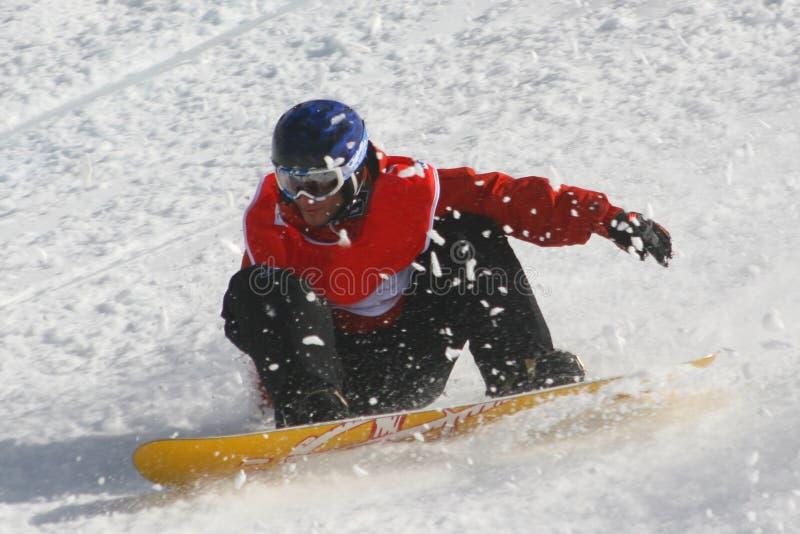 Snowboarder fotos de stock royalty free
