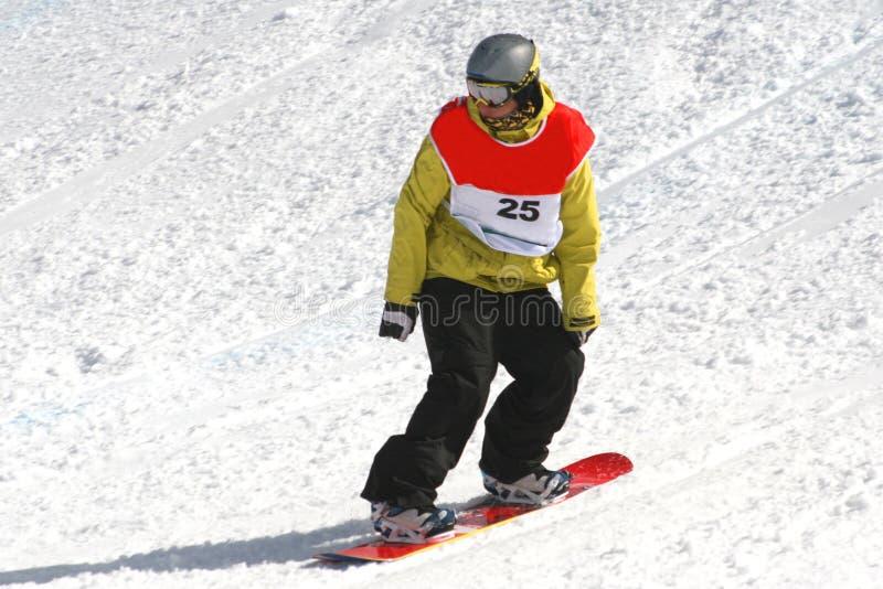 Snowboarder fotografia de stock