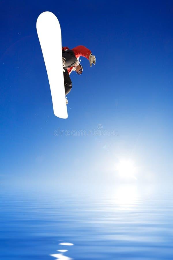 snowboarder photo stock