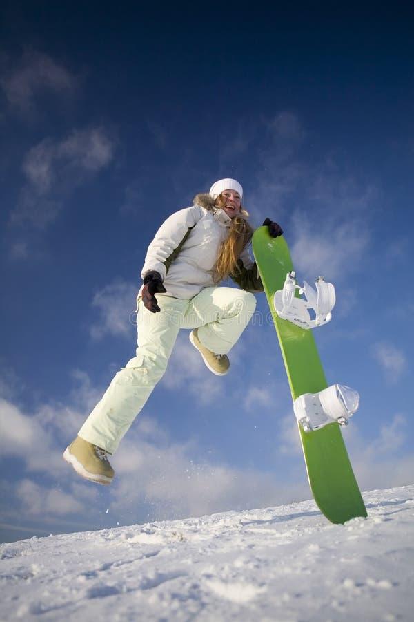 snowboarder стоковое изображение