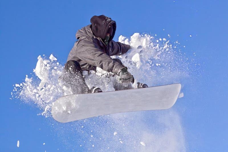 Snowboarder obrazy royalty free