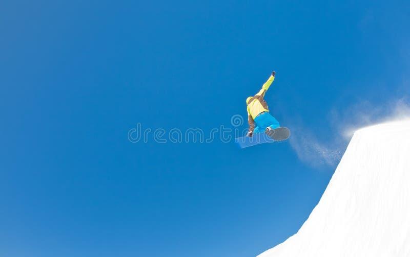 Snowboarder fotos de archivo