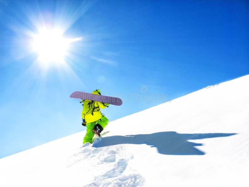 Snowboarder fotos de archivo libres de regalías