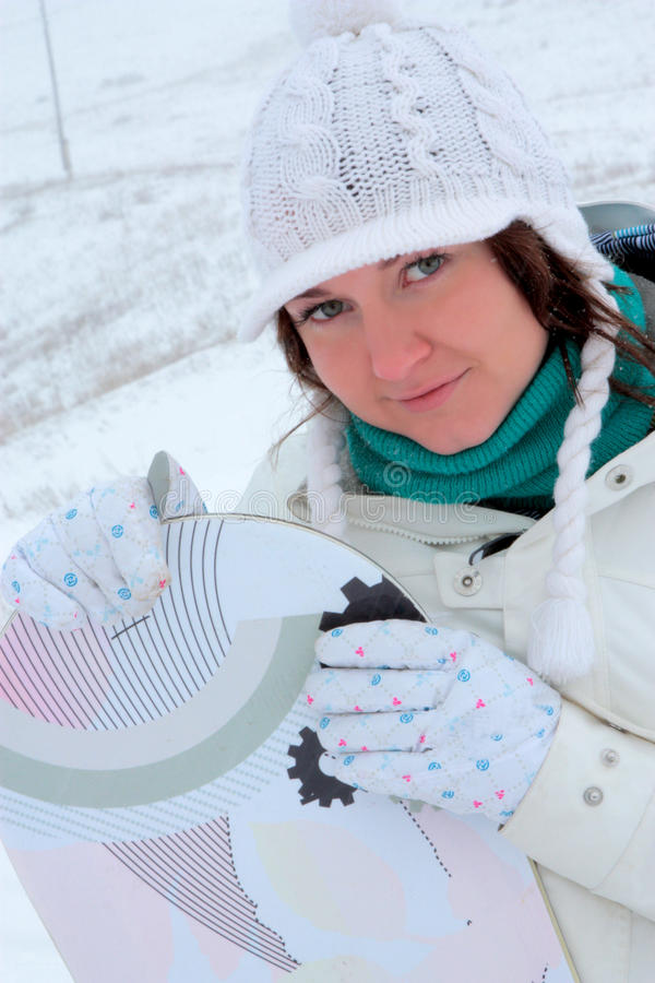 Download Snowboarder Girl Royalty Free Stock Photography - Image: 12651847