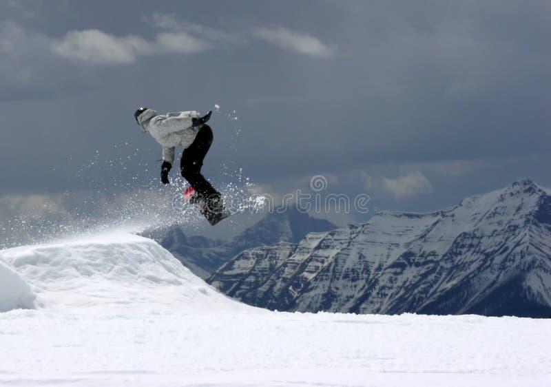 snowboarder2 obrazy stock