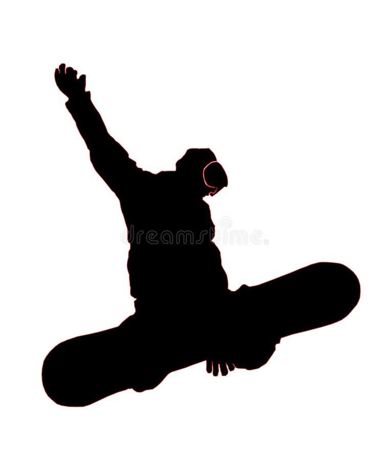 Snowboarder2 image libre de droits