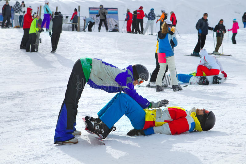 Download Snowboarders stock image. Image of googles, competition - 26998391