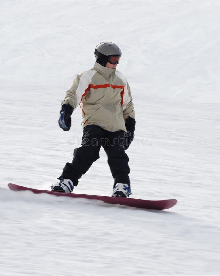 Snowboarding images libres de droits