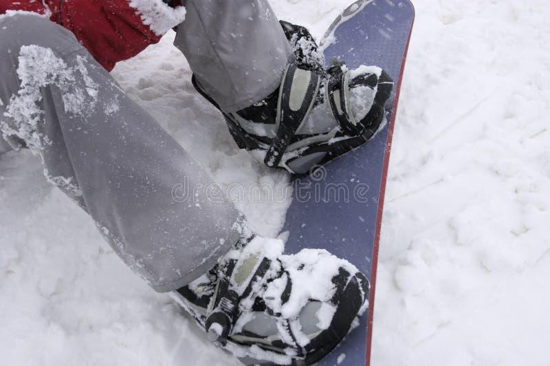 snowboarding obraz stock