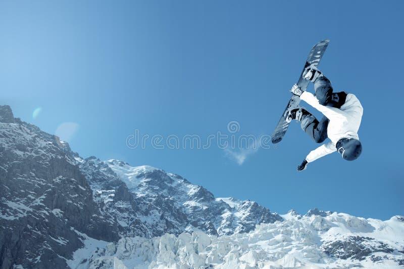 snowboarding imagens de stock