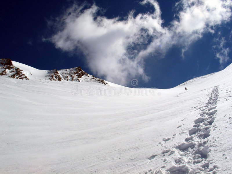 Download Snowboarding stock photo. Image of adventure, europe, blue - 4810770