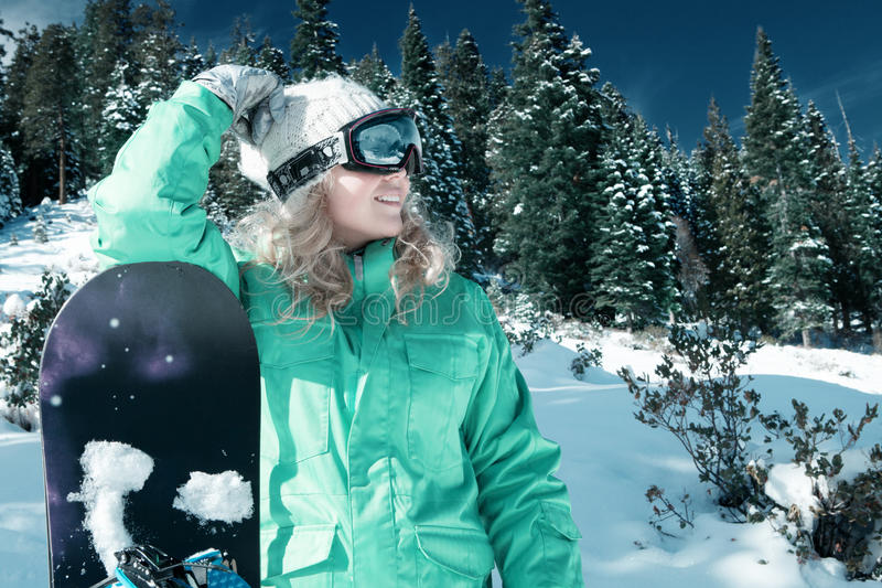snowboarding foto de archivo libre de regalías