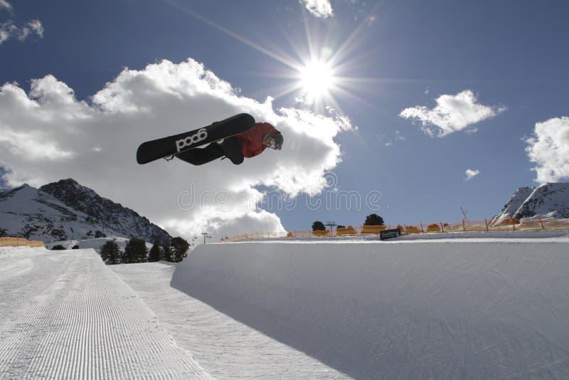 snowboarding stockbild