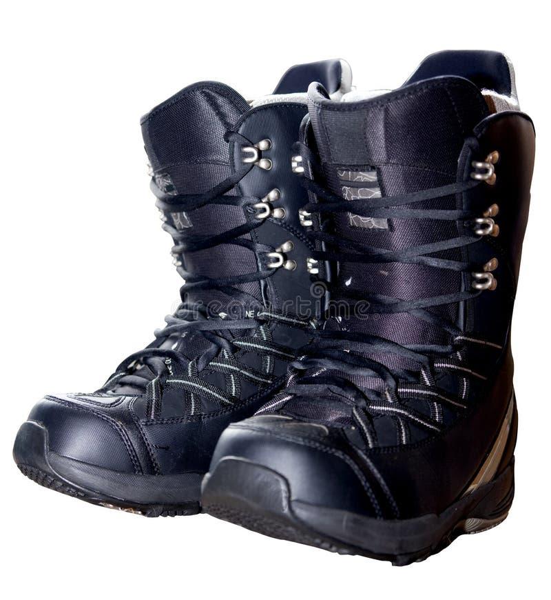 Snowboarding Boots stock photos