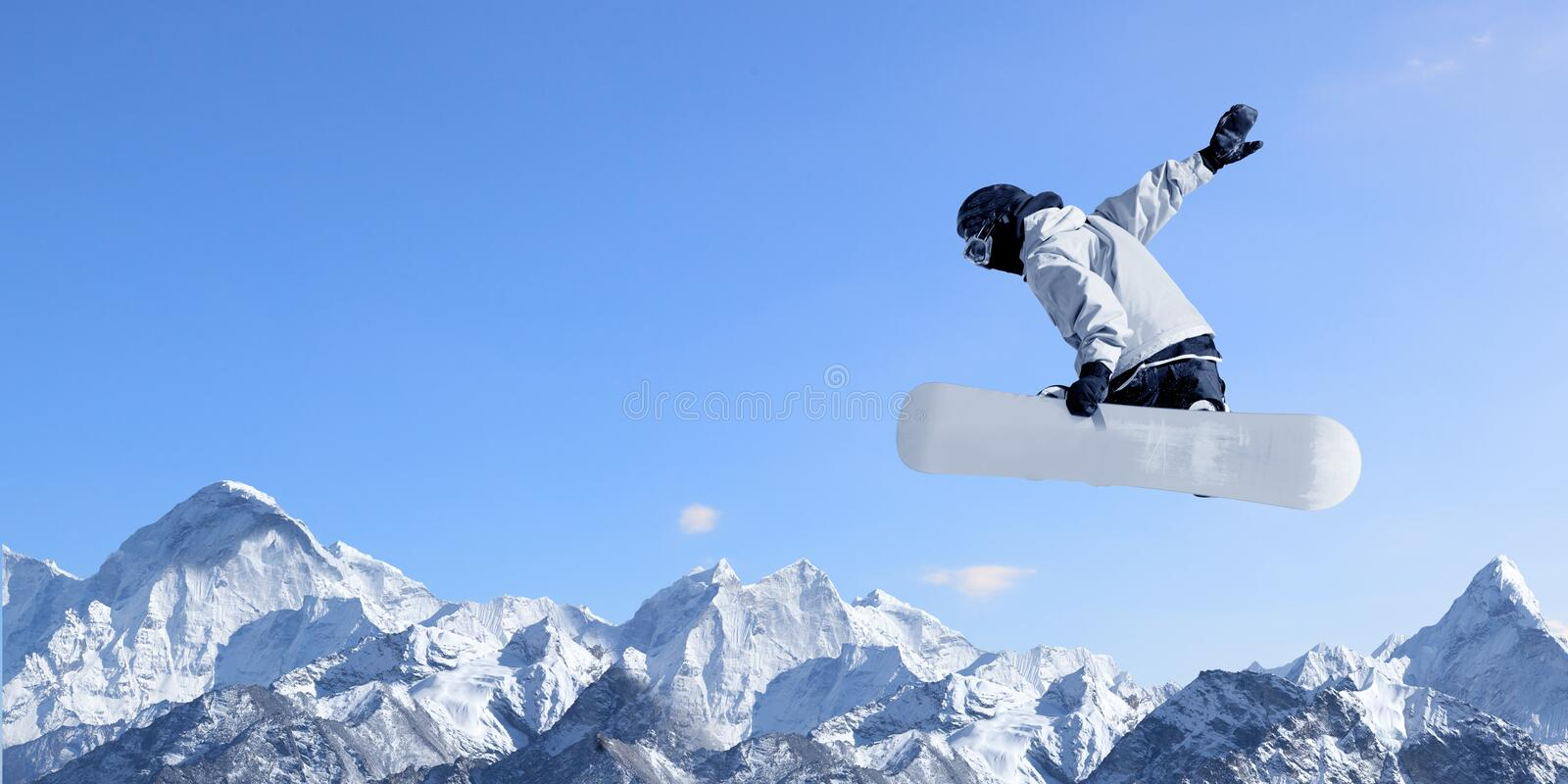 Snowboarding sport stock photo. Image of extreme, cold ...