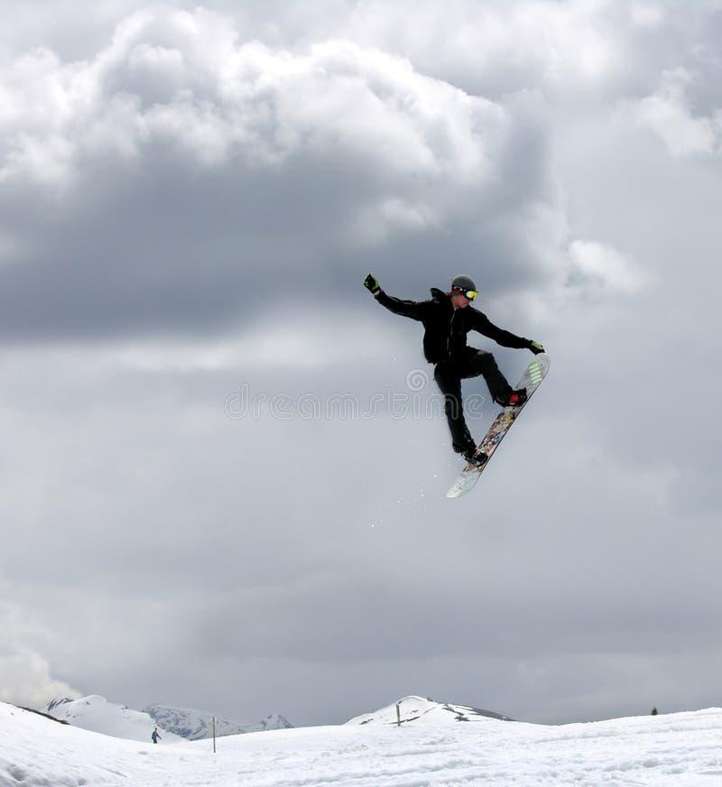 Snowboarding1 photos libres de droits