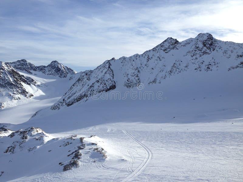 Snowboardmädchen stockfoto