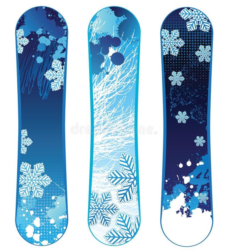 Snowboards Royalty Free Stock Photo