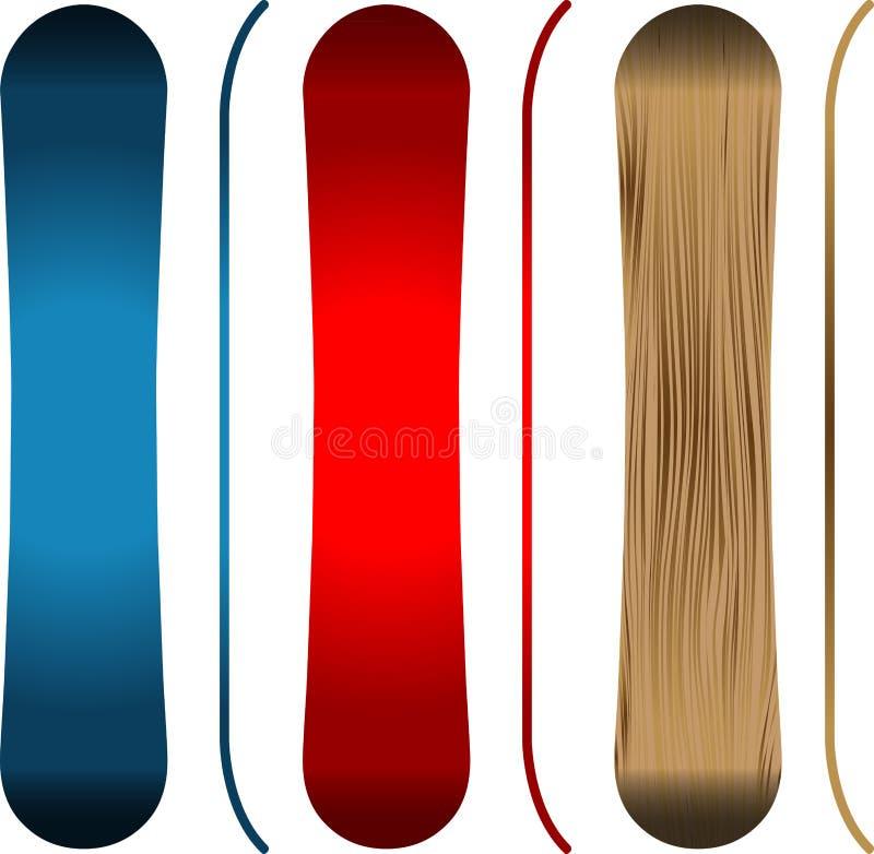snowboards fotografia de stock royalty free