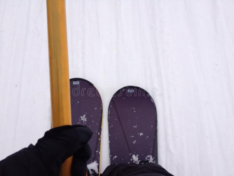snowboards royaltyfri foto