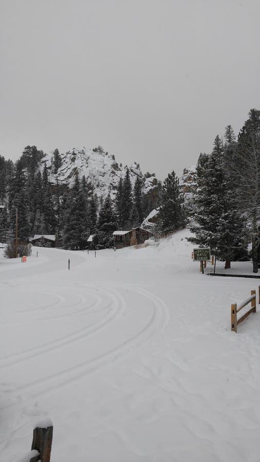 snowbound fotografie stock libere da diritti