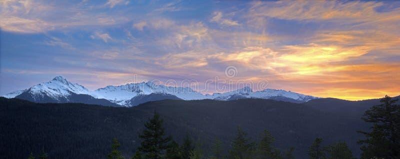 Snowcap Mountain Panorama Free Public Domain Cc0 Image