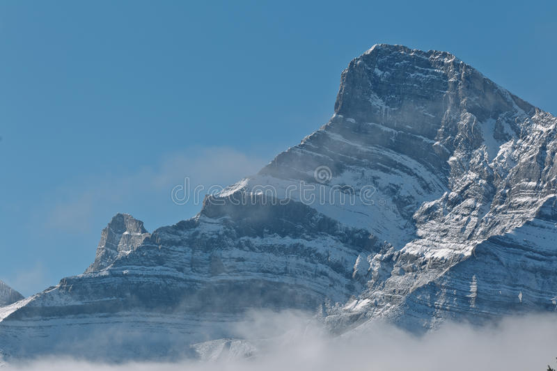 Snowcapped Canadian Rockies Stock Images