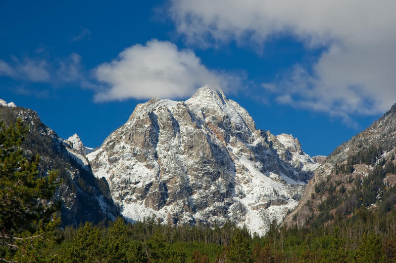 Download Snowcapped Mountain At Grand Teton National Park Stock Photo - Image of nature, fall: 18141404