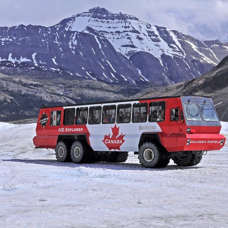 Snowcoach. royalty-vrije stock afbeeldingen