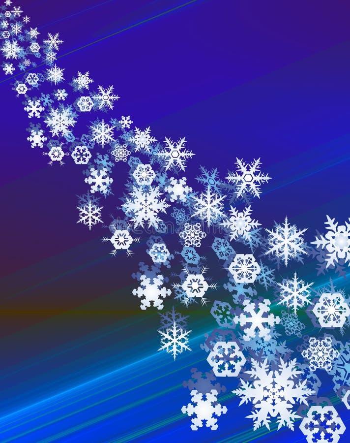 Snowcristals illustration de vecteur