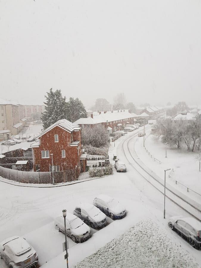 Snowday στοκ εικόνα