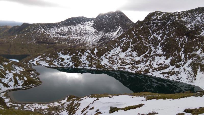 Snowdon image stock
