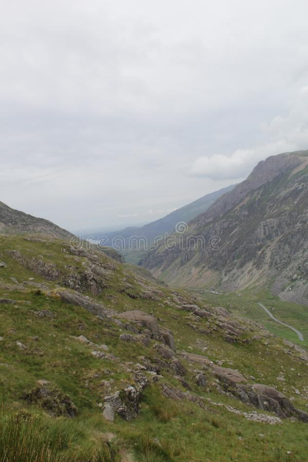 Snowdon royalty free stock images