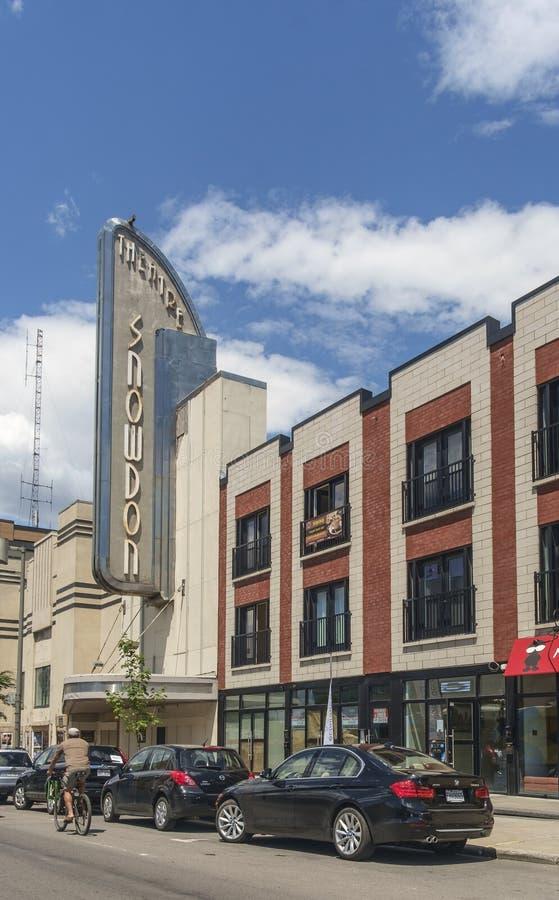 Snowdon-Theater lizenzfreies stockfoto