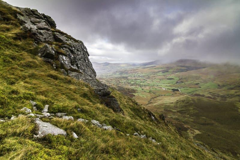 Snowdonia国家公园在威尔士 库存图片