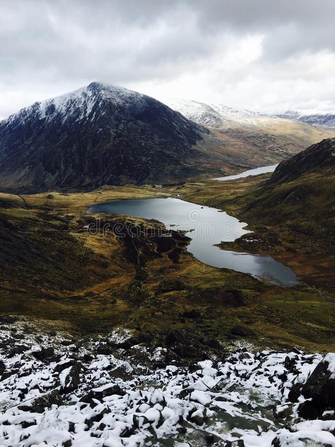 Snowdonia στοκ εικόνα